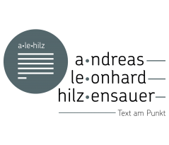 alehilz – Text am Punkt